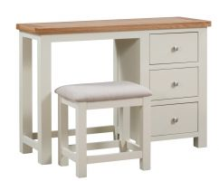 Dorset Painted Dressing Table   Stool