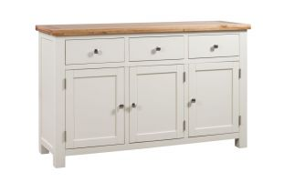 Dorset Painted 3 Door Sideboard
