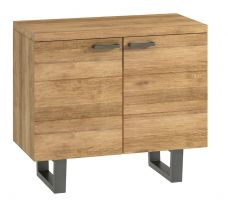 Warehouse Oak Sideboard