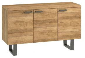 Warehouse Oak Large Sideboard