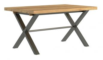 Warehouse Oak 1.9 m Dining Table