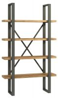 Warehouse Oak Shelf Unit