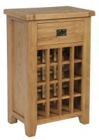 Hereford Oak Wine Rack