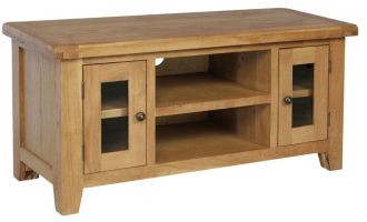 Hereford Oak Large TV Cabinet