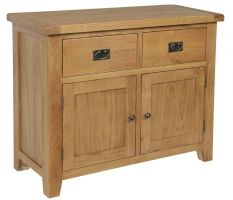 Hereford Oak 2 Door 2 Drawer Sideboard