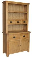 Hereford Oak 2 Drawer Dresser
