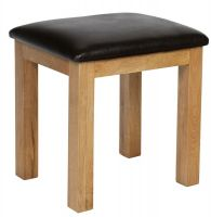 Hereford Oak Dressing Table Stool