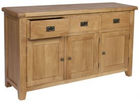 Thumbnail Hereford Oak 3 Door 3 Drawer Sideboard