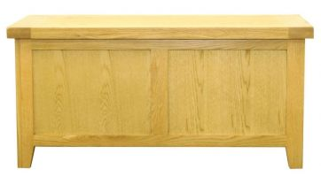 Hereford Oak Blanket Box