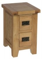 Hereford Oak Small Bedside