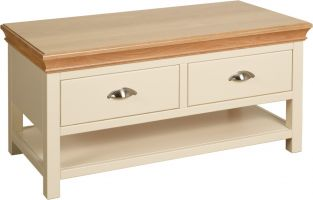 Thumbnail Lundy Coffee Table with Drawers