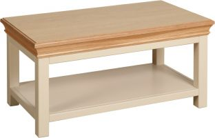 Lundy Coffee Table with Shelf