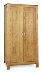 Milano Oak Ladies wardrobe