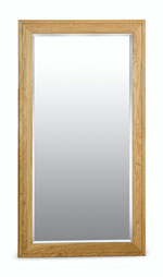 Milano Oak Large Mirror