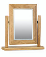 Milano Oak Swivel Mirror