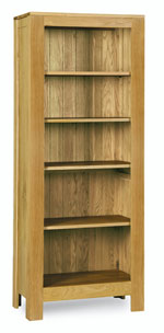 Milano Oak Tall Bookcase