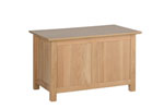 New Oak small blanket box