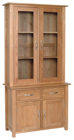 New Oak 3  Glazed Dresser