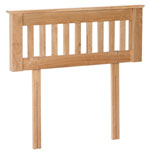 New Oak 3  headboard