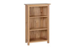 New Oak 3  narrow bookcase