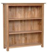 New Oak 3  bookcase