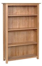 New Oak 5  bookcase