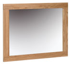 New Oak 750 x 600 mirror