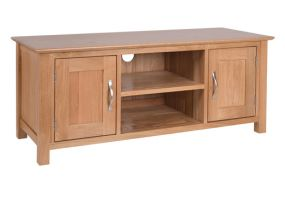 New Oak large TV unit