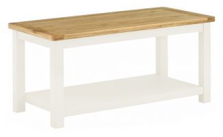 Northport White Coffee Table