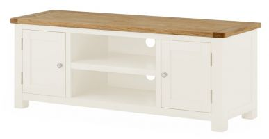 Northport White Large TV Cabinet