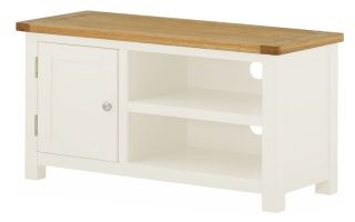 Northport White TV Cabinet