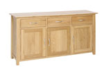 New Oak large sideboard