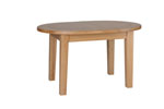 New Oak small D end extending table