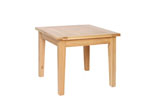 New Oak 3  x 3  table