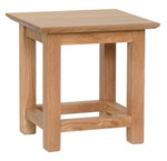 New Oak side table
