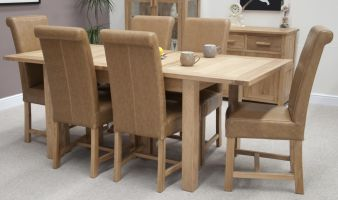 Opus Oak Extending Table