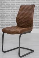 Thumbnail Retro Dining Chair Antique Brown