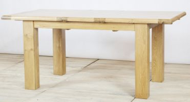 Genoa Oak 2.2m - 2.7m Extending Table