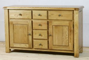 Genoa Oak Large Sideboard