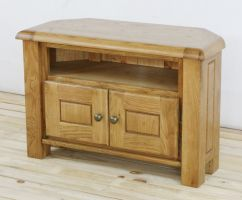 Genoa Oak Corner TV Unit