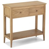 Waverley Oak 2 Drawer Console Table