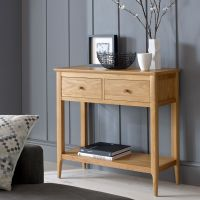 Thumbnail Waverley Oak 2 Drawer Console Table
