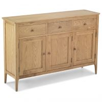 Waverley Oak 3 Door 3 Drawer Large Sideboard