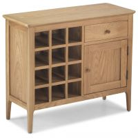 Waverley Oak Wine Rack Sideboard