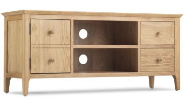 Waverley Oak Wide Screen TV Cabinet
