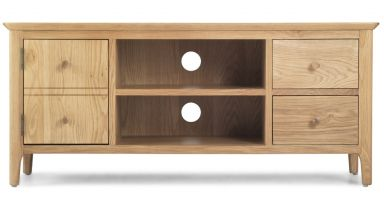 Thumbnail Waverley Oak Wide Screen TV Cabinet