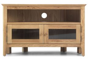 Thumbnail Waverley Oak Corner TV unit with Doors