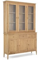 Waverley Oak Large Glazed Dresser