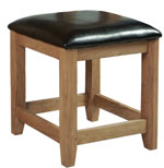 Suffolk Oak dressing table stool