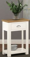 Thumbnail Northport White One Drawer Console Table